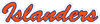 New York Islanders 1982 Wordmark