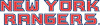 New York Rangers Wordmark